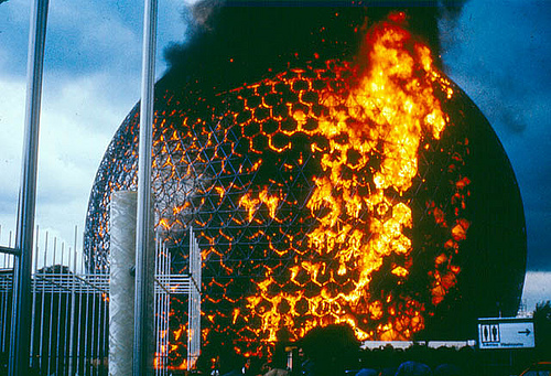 Burning Biosphere