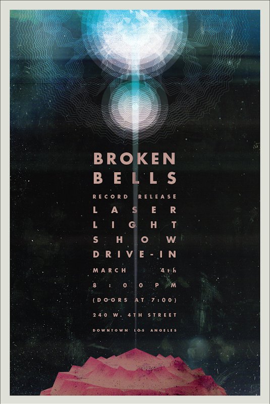 Broken Bells Poster by Jacob Escobedo