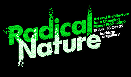 Radical Nature branding by Research Studios