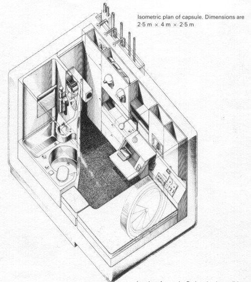 isometric plan from capsule