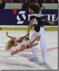 O. Domnina, M. Shabalin dancing passion