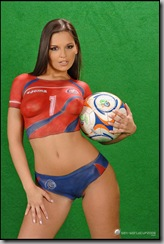 FIFA Girl Boady painting (6)