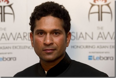 Sachin Tendulkar at The Asian Awards2