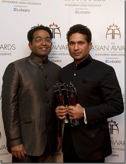 Sachin Tendulkar at The Asian Awards5