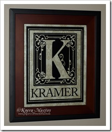 Kramer monogram