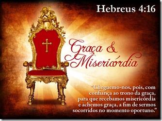 Graça e Misericórdia
