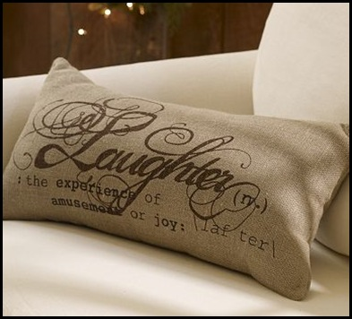 laughter pillow
