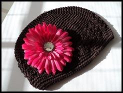 brwnbeaniewpinkflower