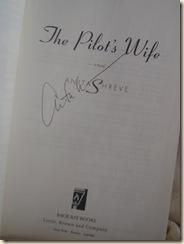 Anita Shreve win autograph