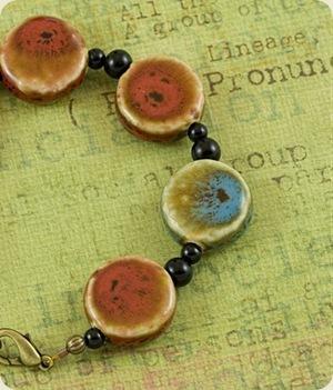 pottery bracelet