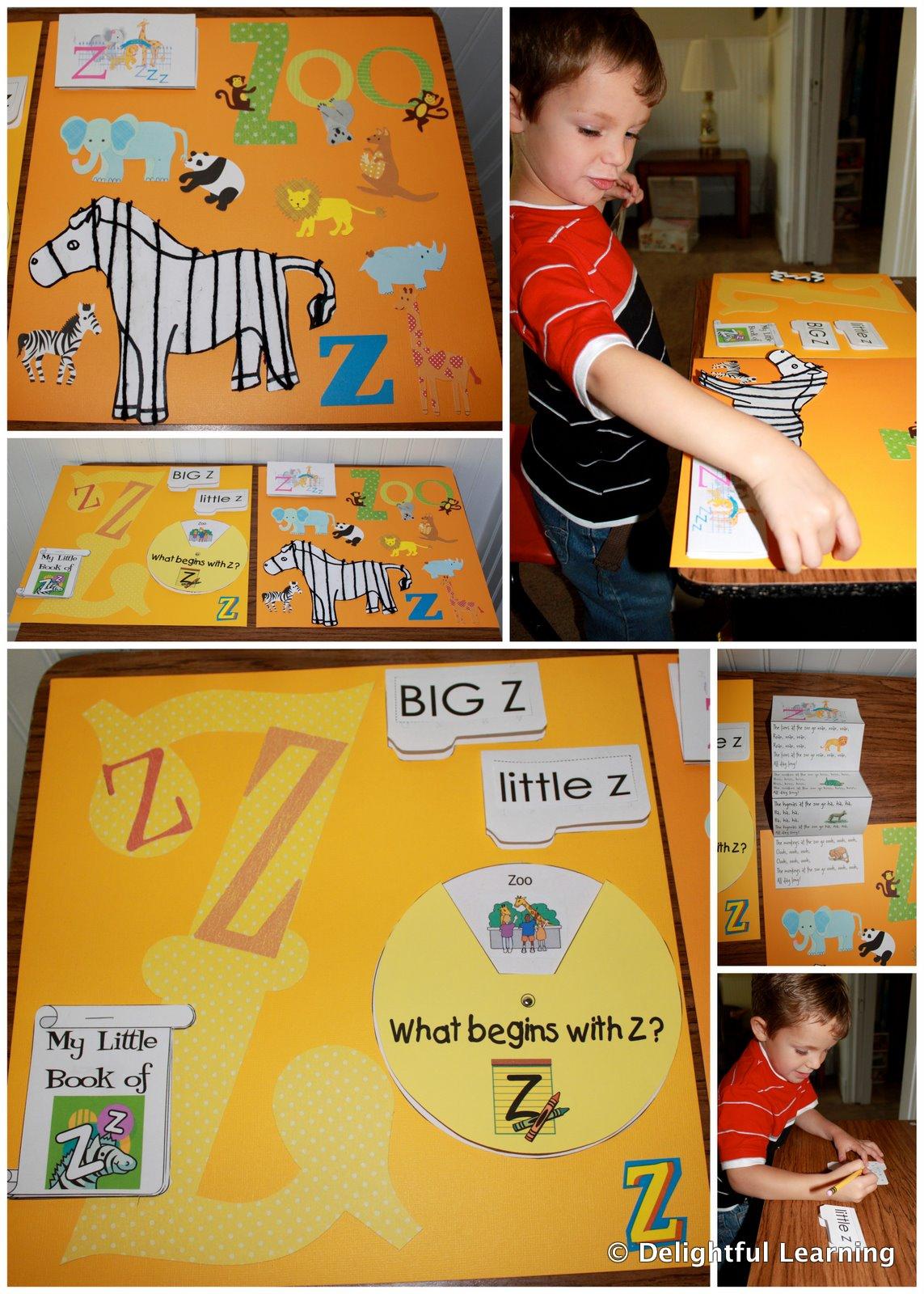 Scrapbook ideas zoo - Z Is For Zoo
