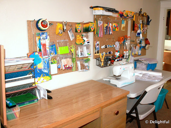 Peg Board Organizing {System}