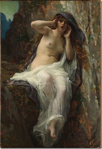 Alexandre Cabanel's picture of Echo