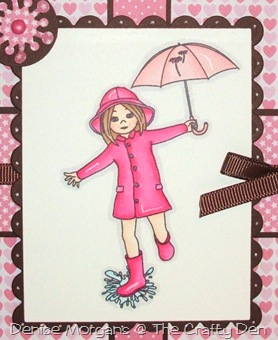 CCC challenge 110 - pink & brown (close up)