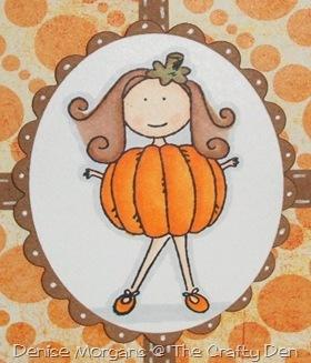 halloween card (close up)