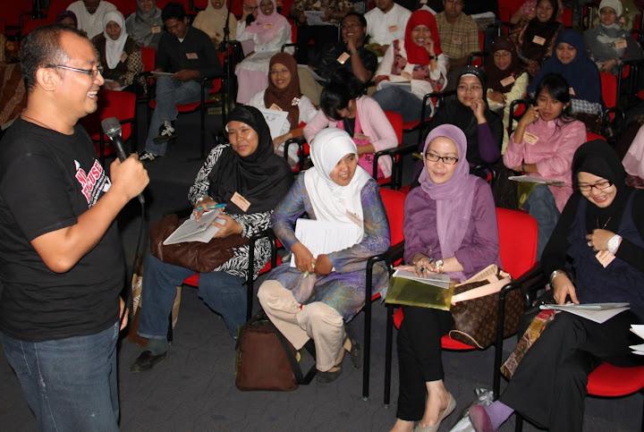 Isa Alamsyah share parenting