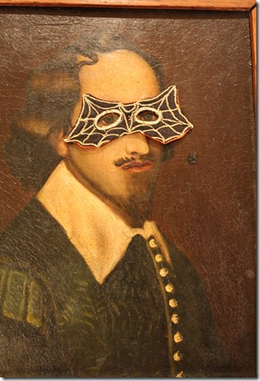 shakespeare with mask