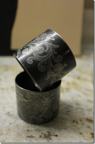napkin rings from telluride