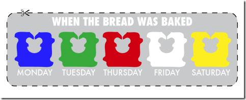 bread code