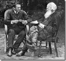 Tolstoy and Bulgakov