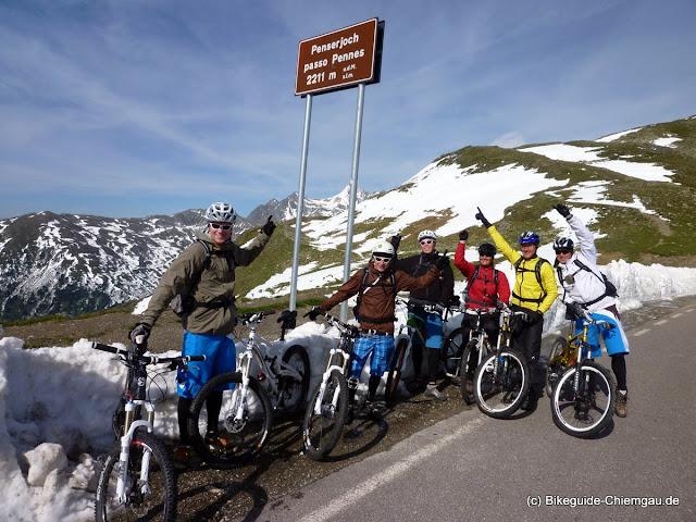 Mountainbike Transalptouren - Bikeguide Chiemgau