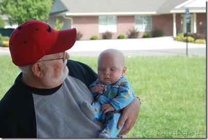 Mike and Grandpa Lee