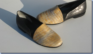 vintage Italian leather flats on Etsy
