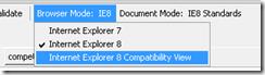 SharePoint IE8