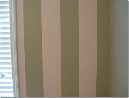 This is what I meant by the brown stripe and brown wall meeting so we