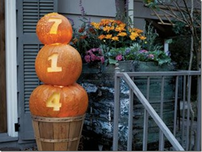 cottage living address pumpkins