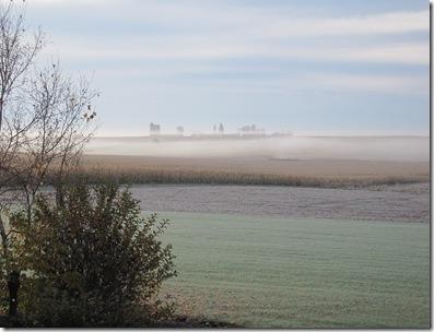 Foggy morn 10-27-09