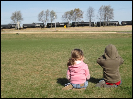 10-16-10 watchin the train