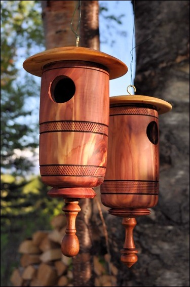 Red Cedar Birdhouses 1