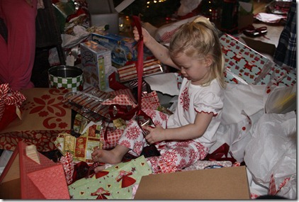 Presents & the Chaos of Christmas Morning