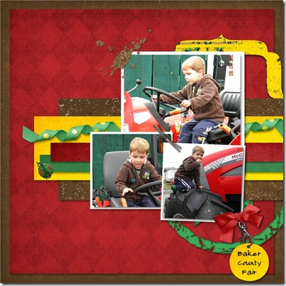 SAHM Scrapper - Tractor Trouble #2 300
