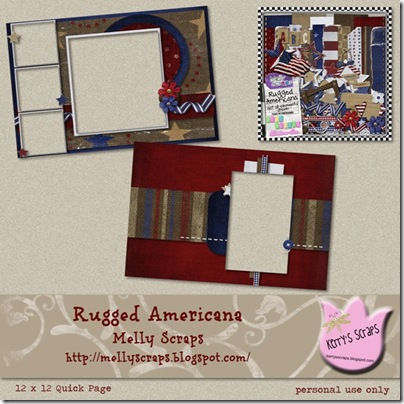 Rugged Americana Brag Book Preview - Page 002