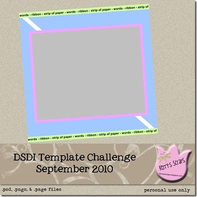 DSDI September Template Preview