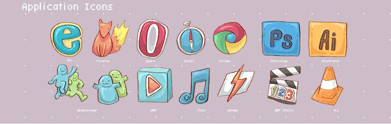 Harmonia Pastelis Icons
