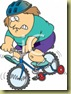 172_overweight_woman_riding_a_bicycle_with_training_wheels