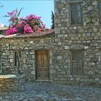 Eski Datça da restore edilmiş evlerden biri