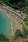Akyaka da bir plaj