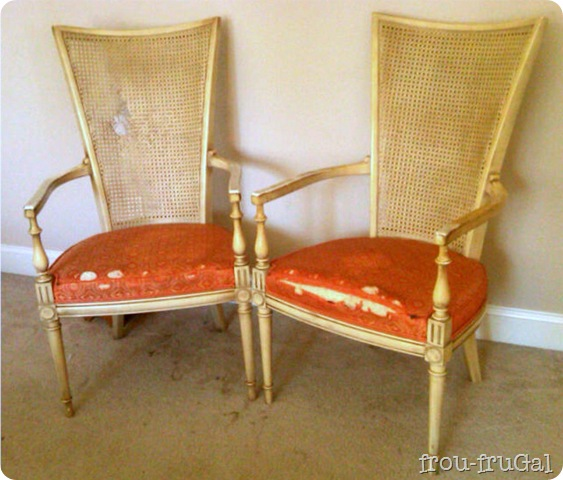 Cane Back Chairs