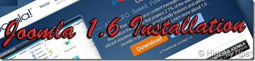 Joomla 1.6 Installation