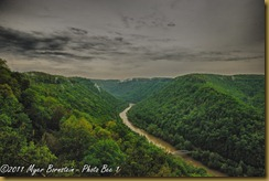 fl New River Gorge w Fayette Station Bridge_ROT1498West Virginia  May 01, 2011 NIKON D3S