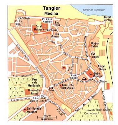 City maps Tangier