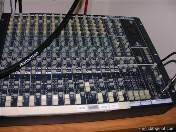 16 Channel Mixing Desk $100.00 (Small)