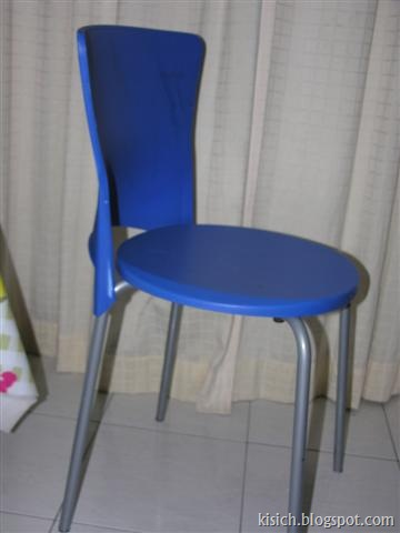 Blue Chair $5.00 (Small)