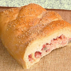 Ham'n Cheese Picnic Bread