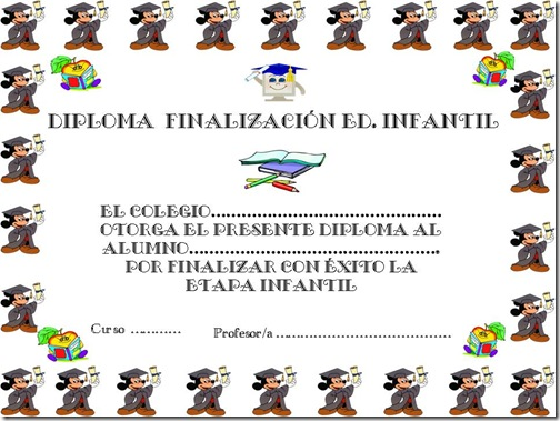 DIPLOMA GRADUACIN