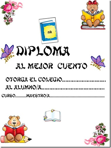 diplomas para imprimir. Diplomas escolares gratis para